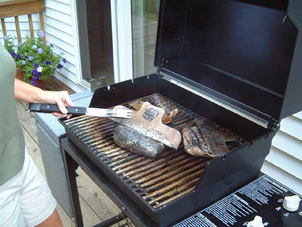 Grill the racks on high heat until the meat is cooked medium-rare to medium.