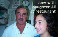 Joey and daughter Ali